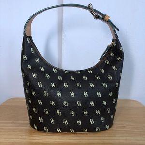 Dooney & Bourke Signature Small Hobo Bag